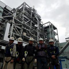 石巻雲雀野発電所建設工事終了のお知らせです。